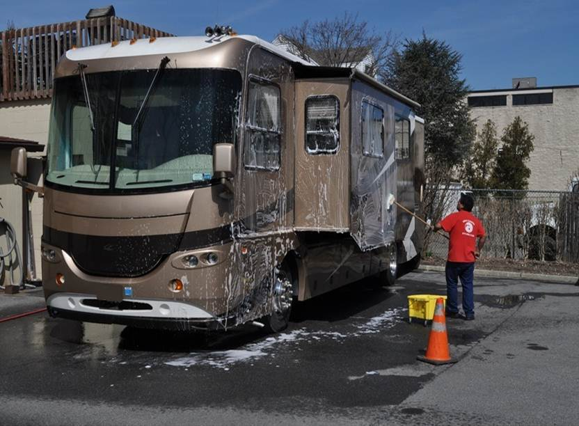 Rv Amp Camp Trailer Cleaning Poseidon Cleaning Services